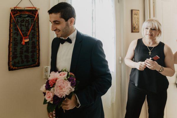 Marié - photo reportage mariage paris