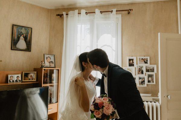 Bisous - photo reportage mariage paris