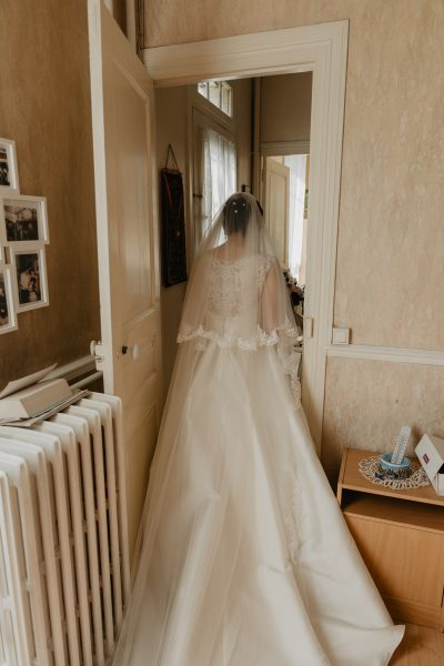 Mariée - photo reportage mariage paris