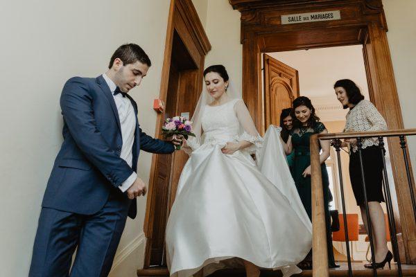 photo mariage arménien paris mairie Fontenay-aux-Roses mariage civile