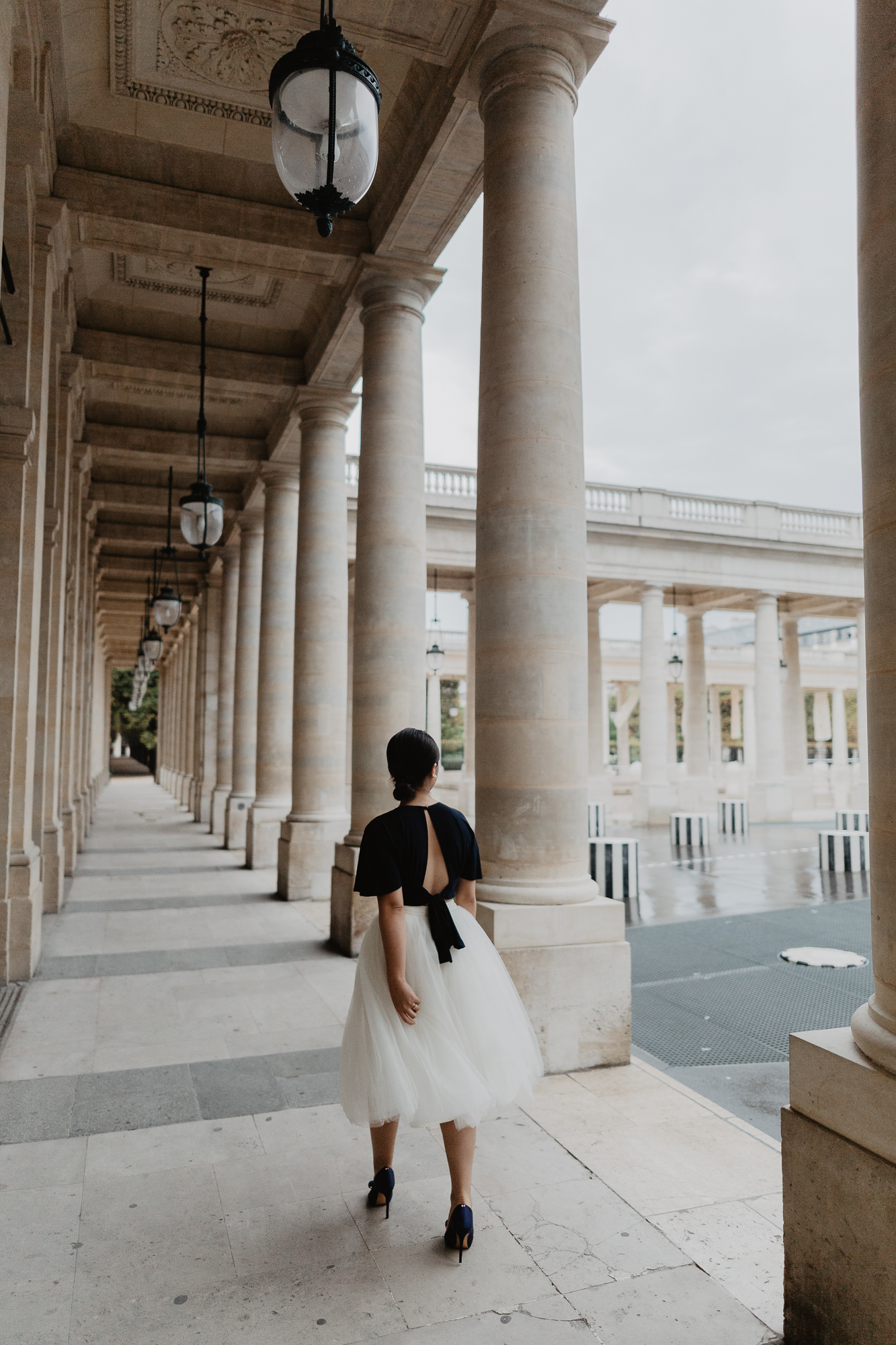 Couple Photography Palais Royal Paris