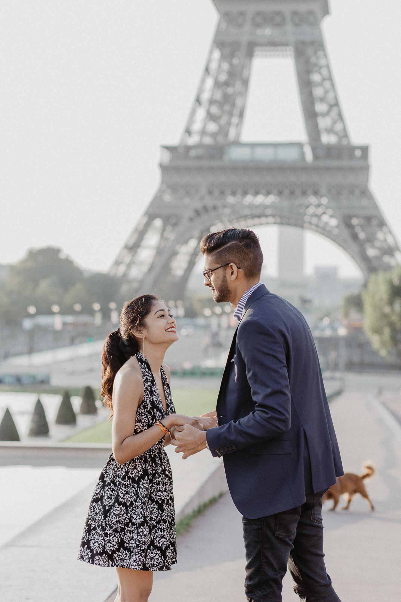 surprise proposal photography paris