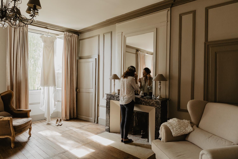 Mariage preparation Chateau de Planchevienne