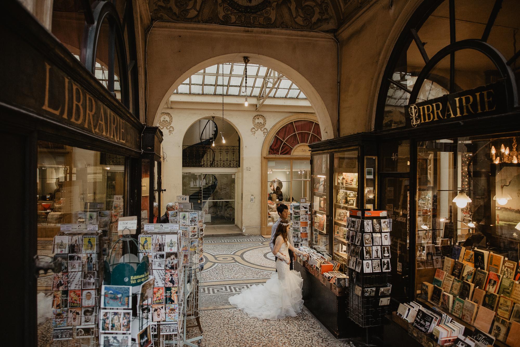 Elopement photo galerie vivienne paris