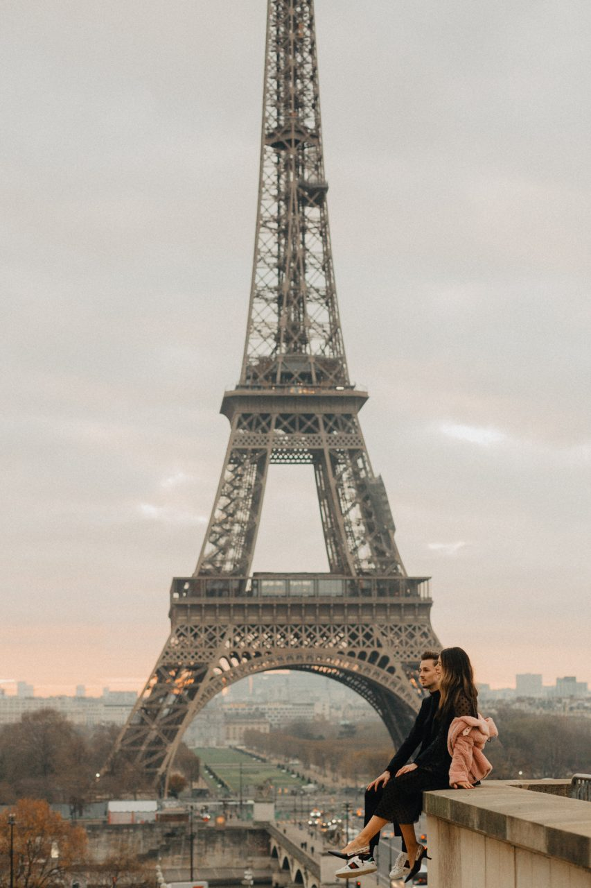 Instagrammers Paris Eiffel tower trocadero photography