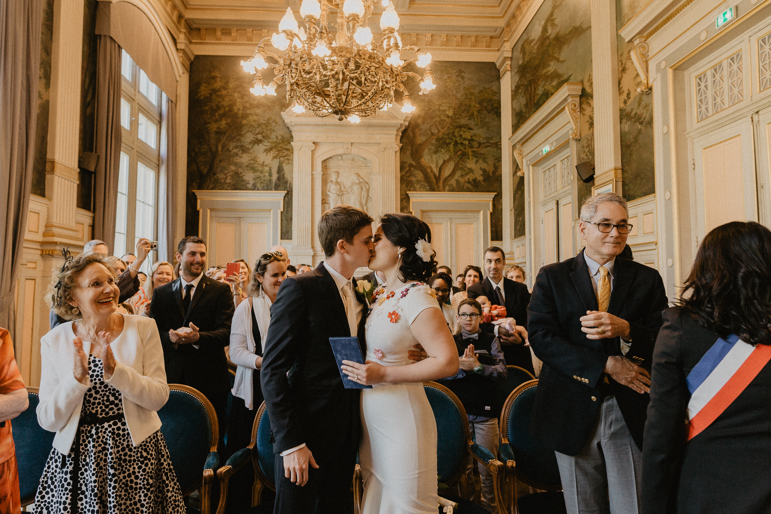 mariage marie 16e photo civil ceremonie
