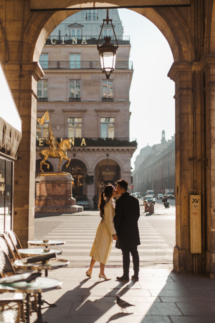 Paris Pre-wedding Couple Photoshoot