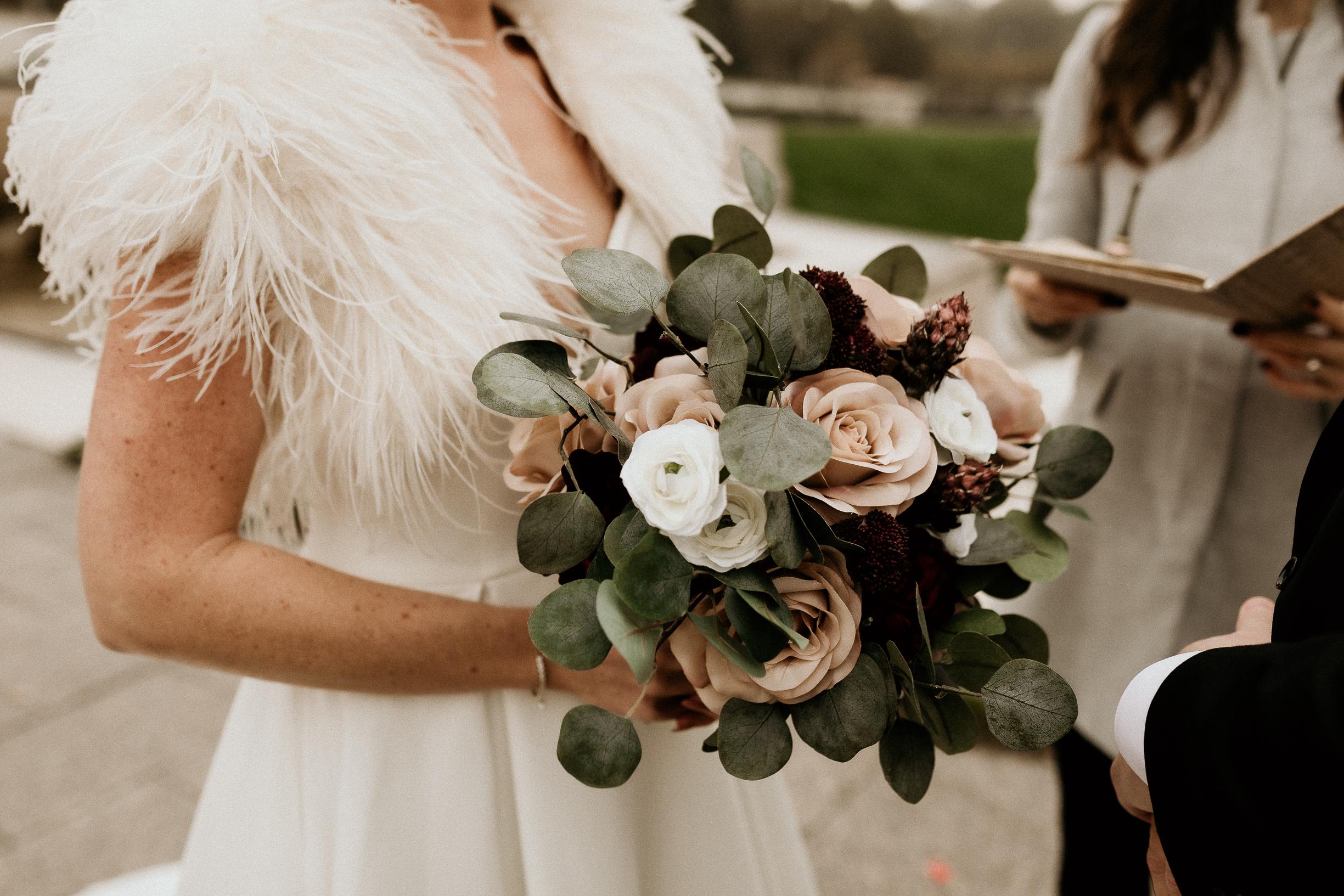Paris floral bouquet