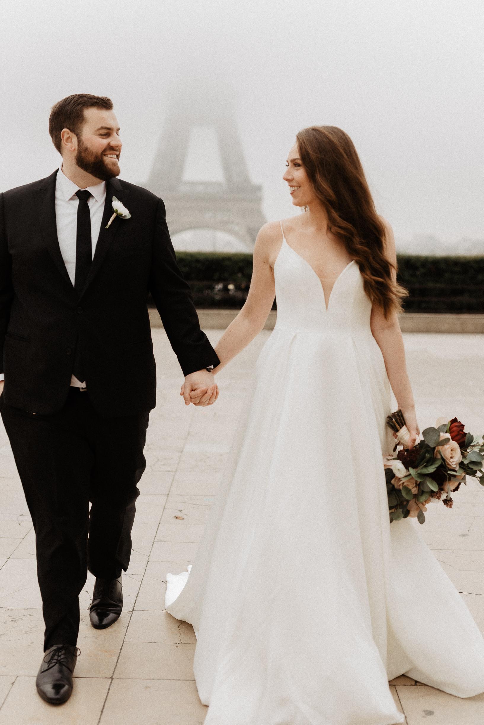 Paris Elopement Eiffel Tower