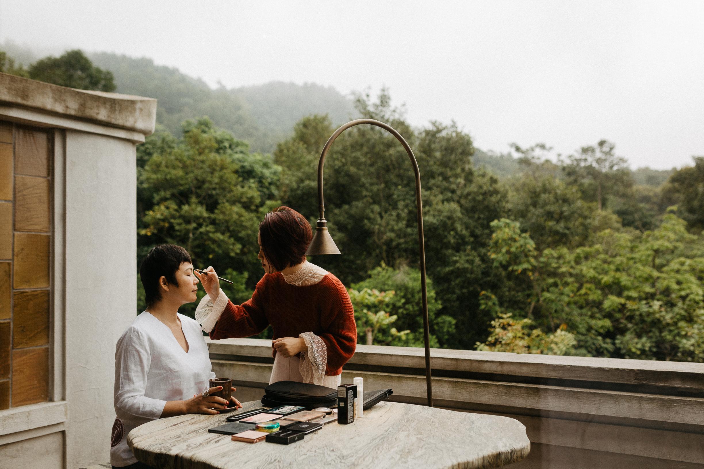 Legacy Yen Tu wedding preparation