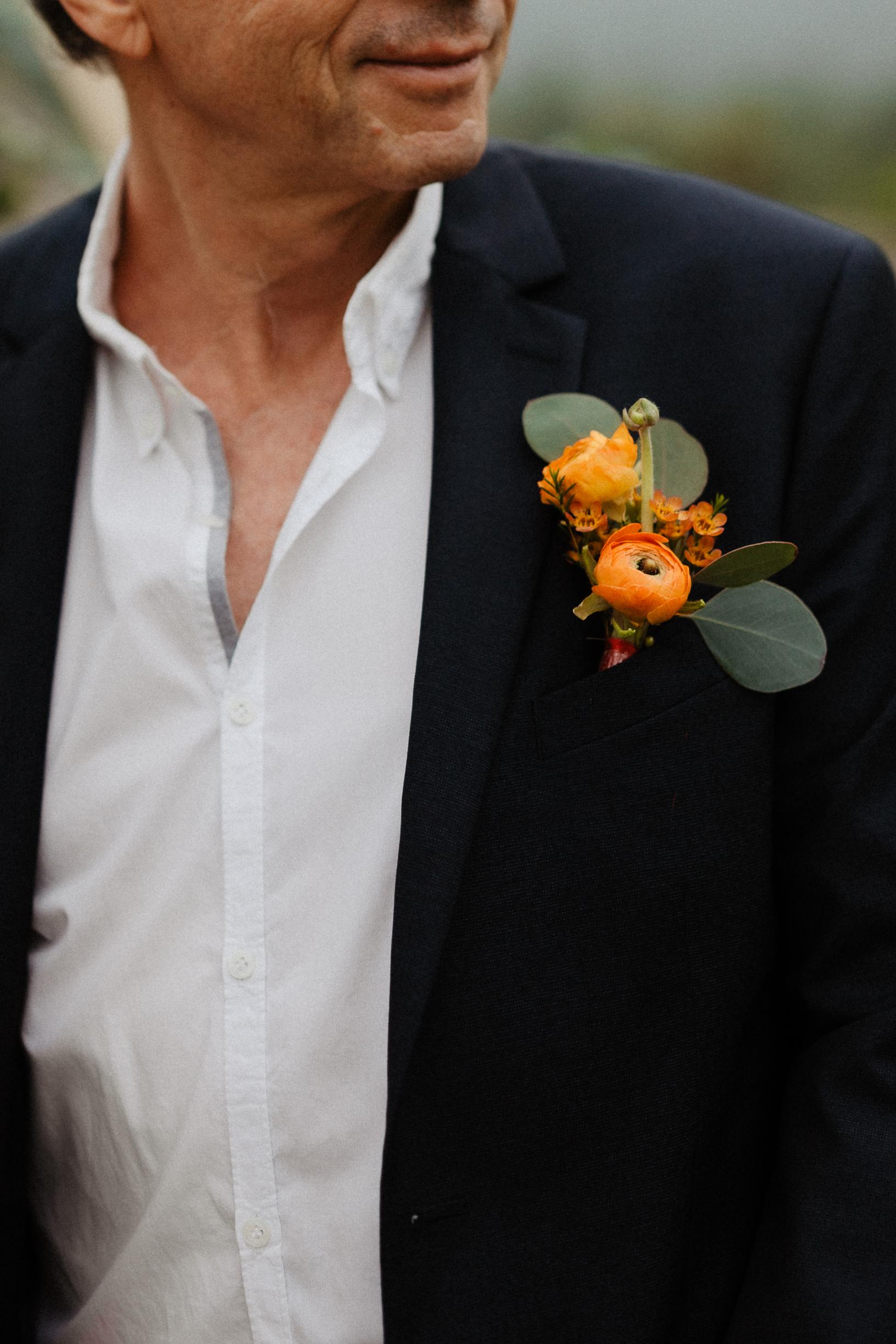 Boutonniere Legacy Yen Tu wedding elopement vietnam
