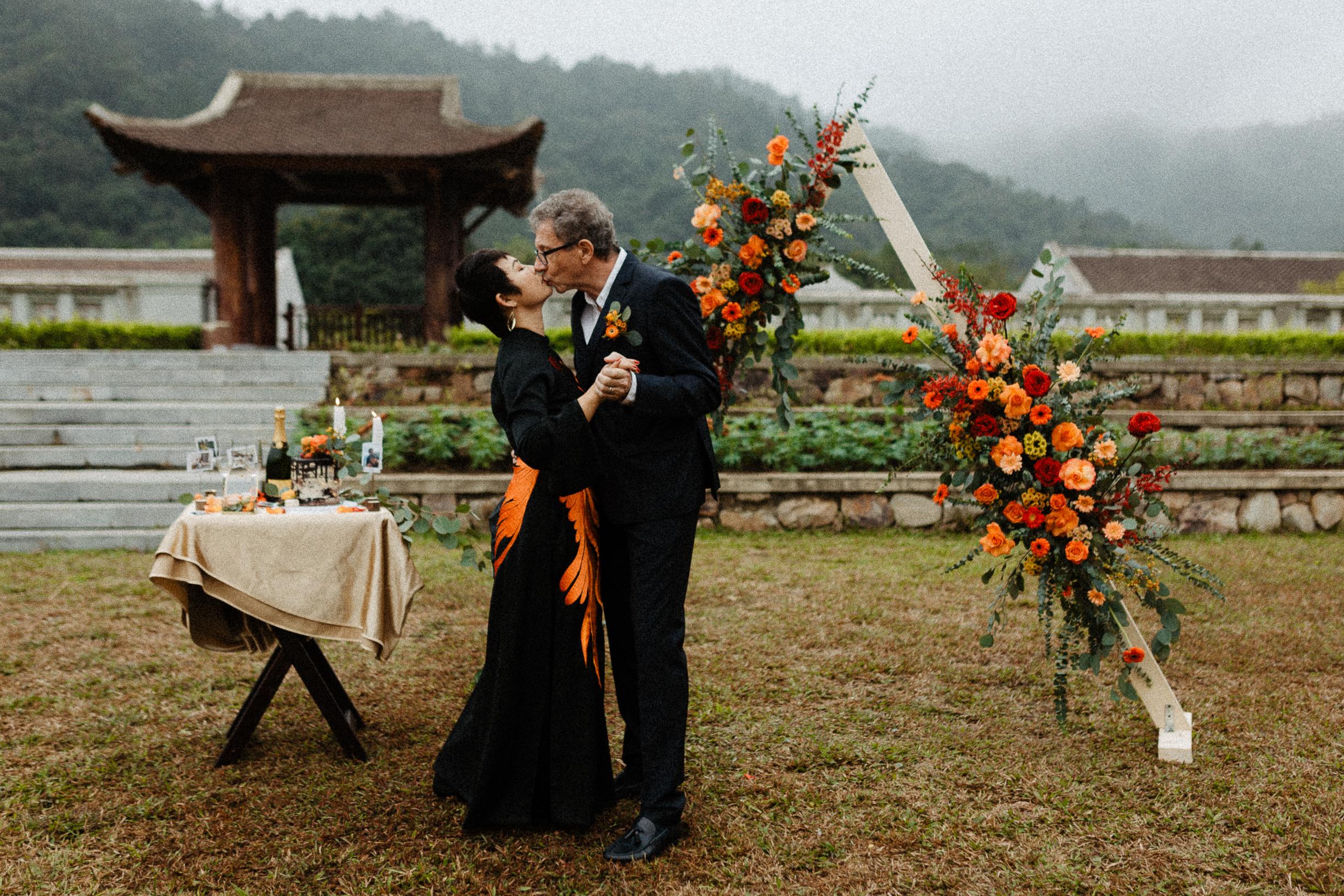 Dance Legacy Yen Tu wedding elopement vietnam