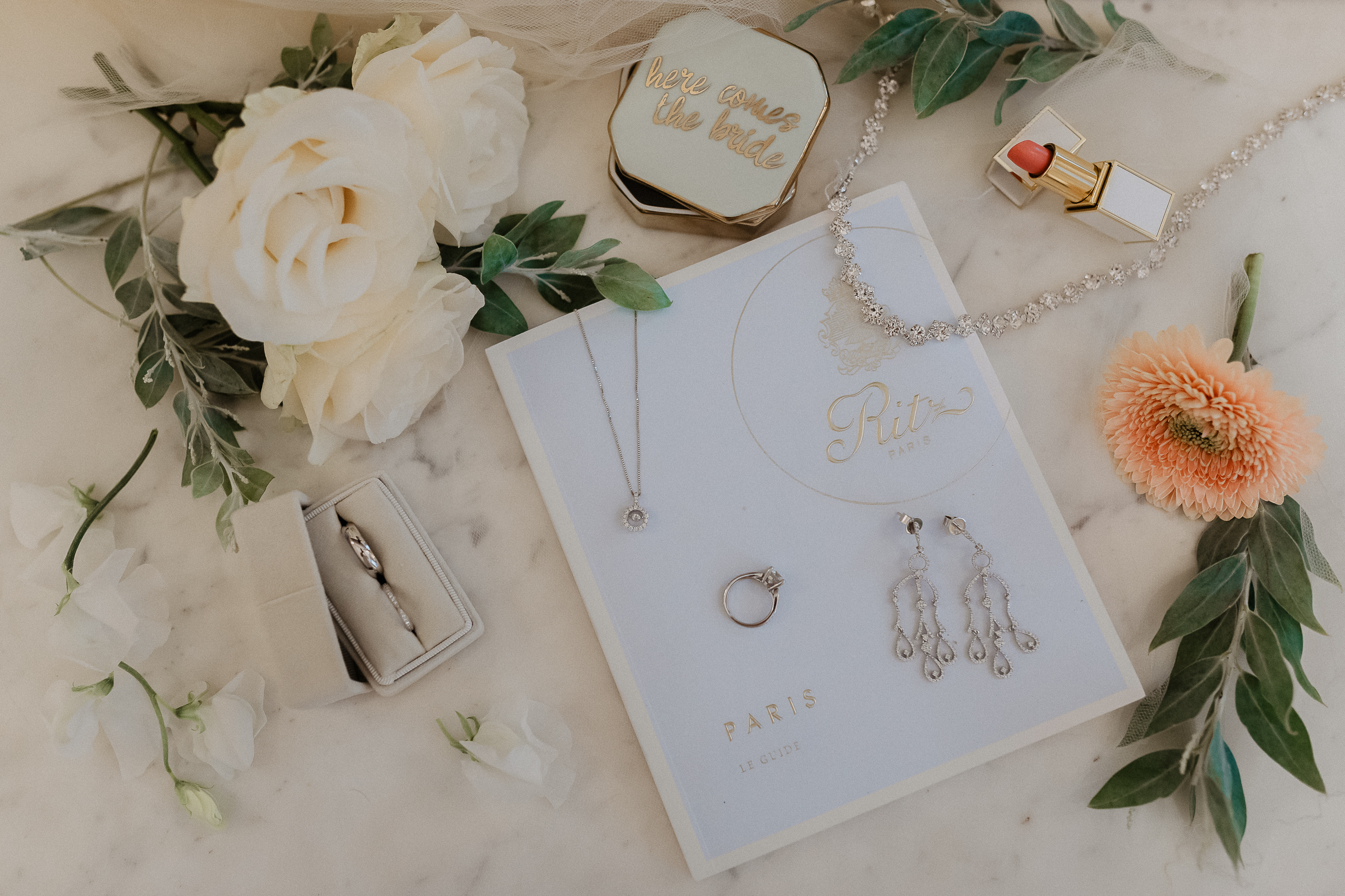 Stationery vows books and rings