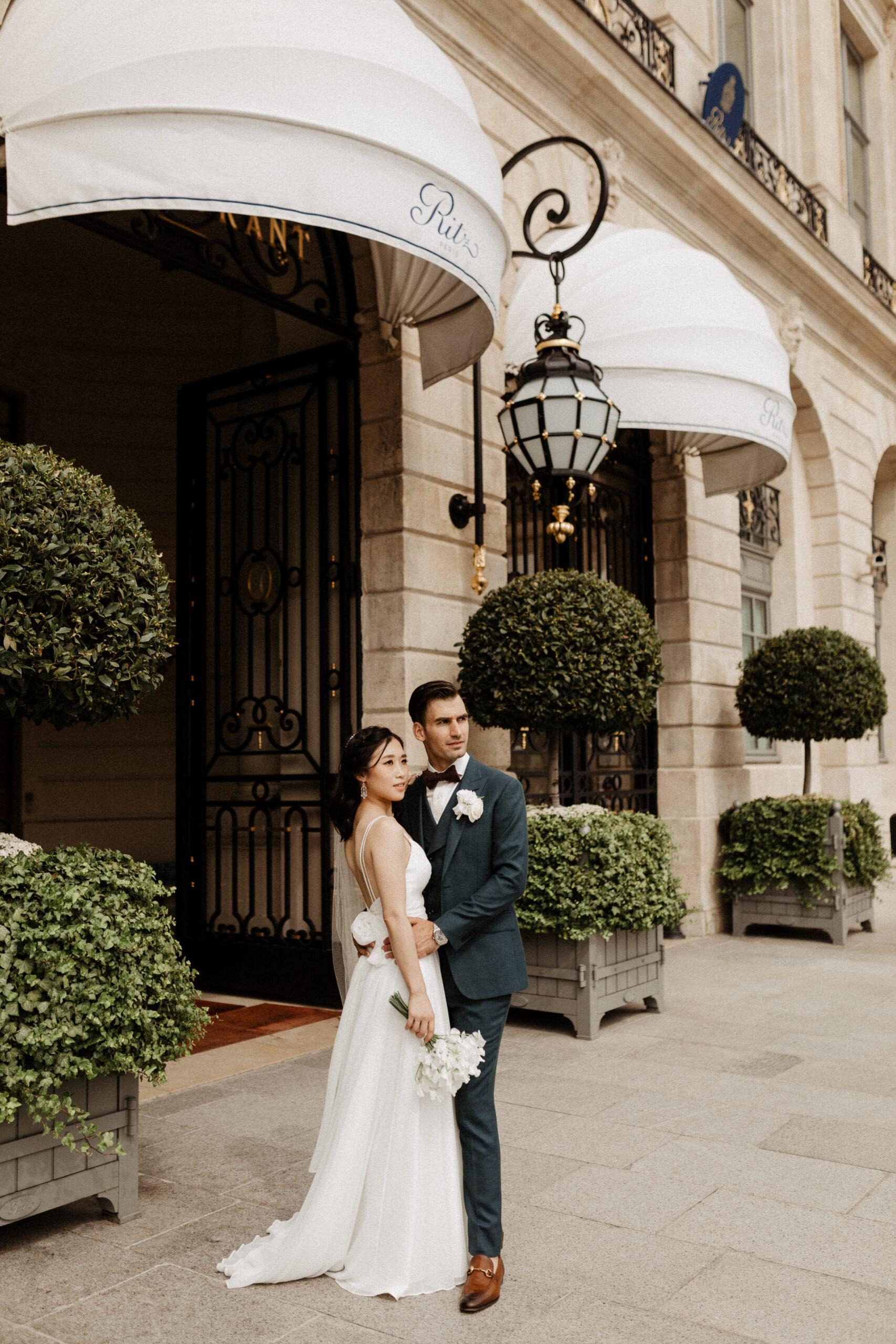 wedding ritz hotel luxury