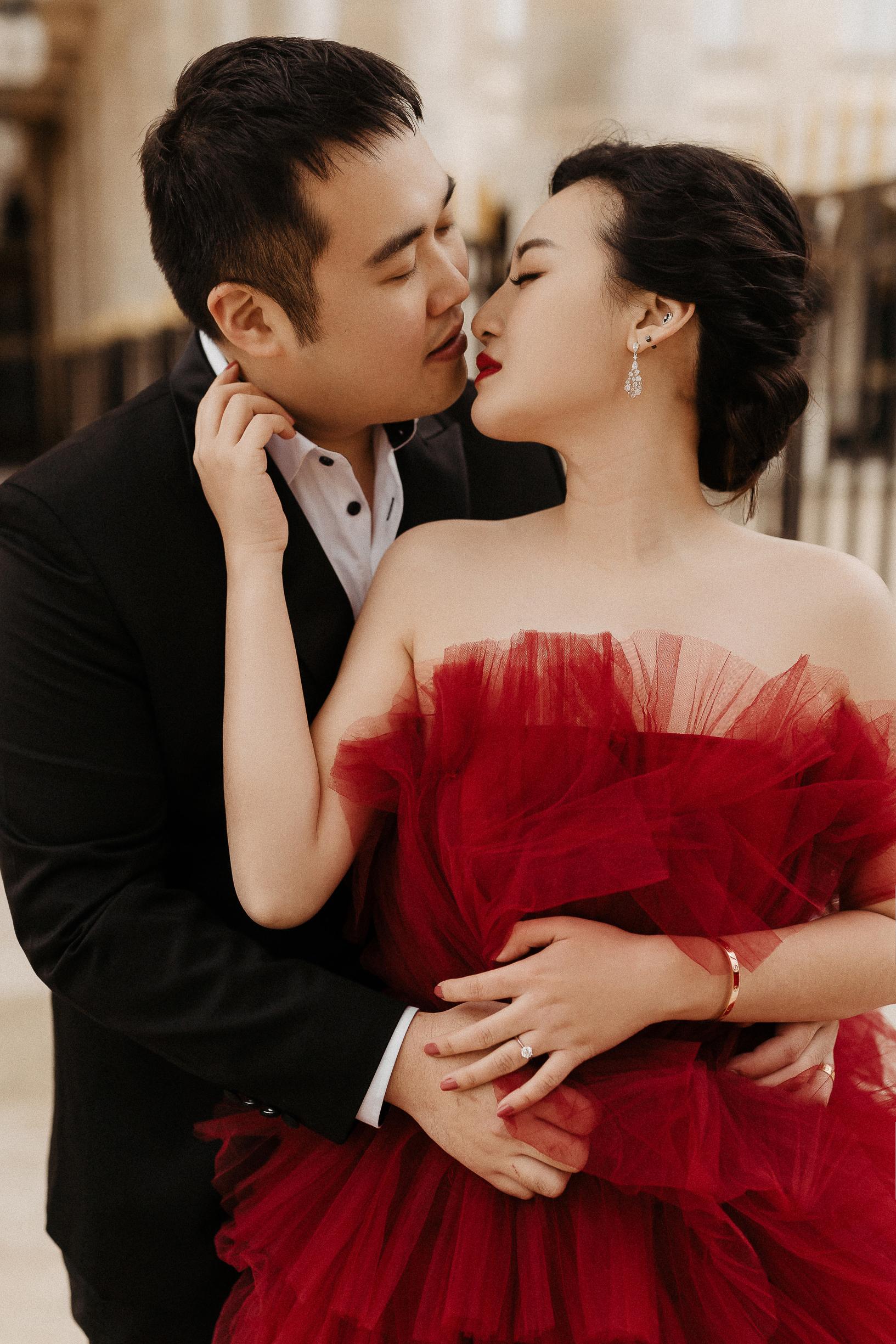 A Paris pre-wedding & elopement in one day