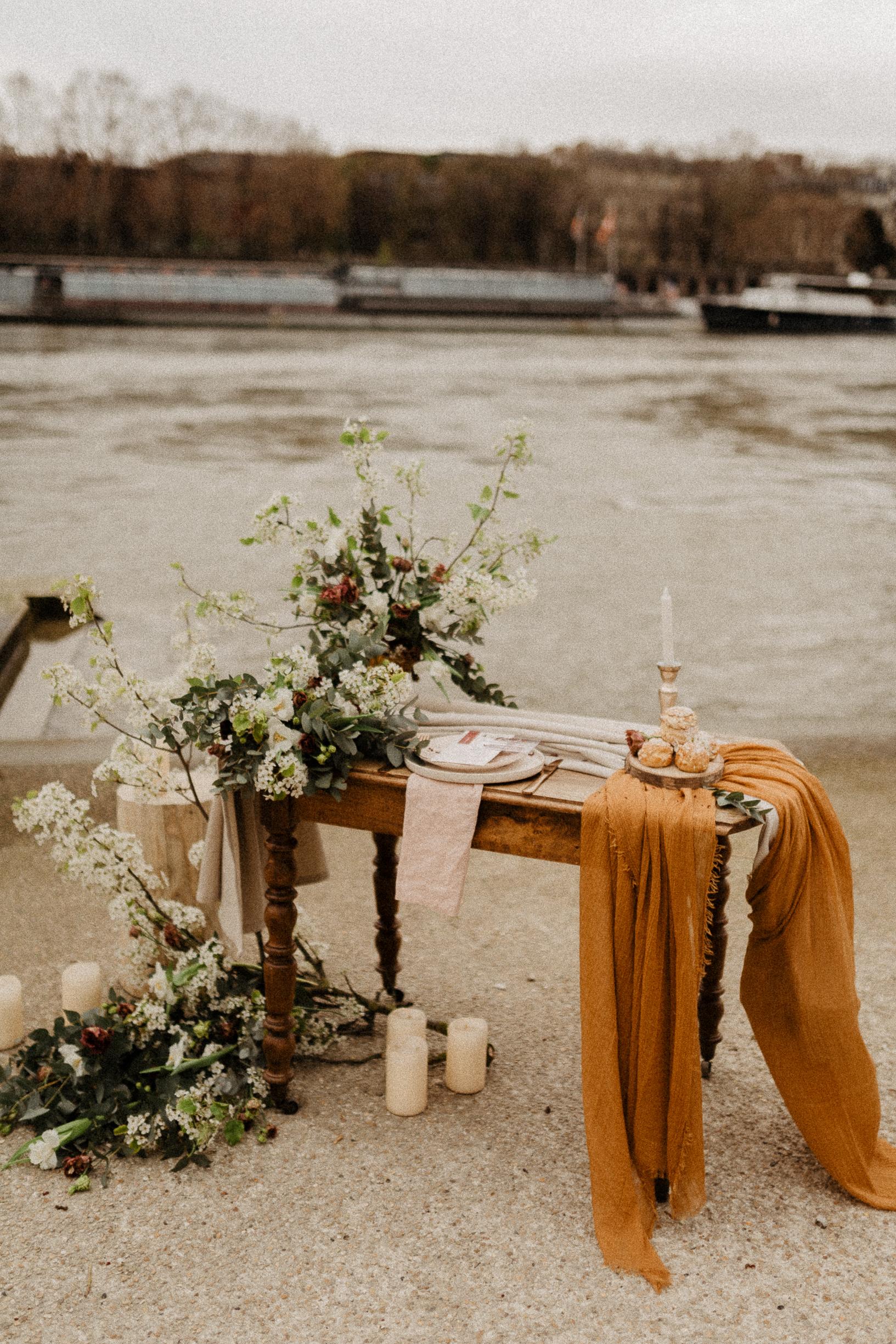 paris wedding photographer rustic