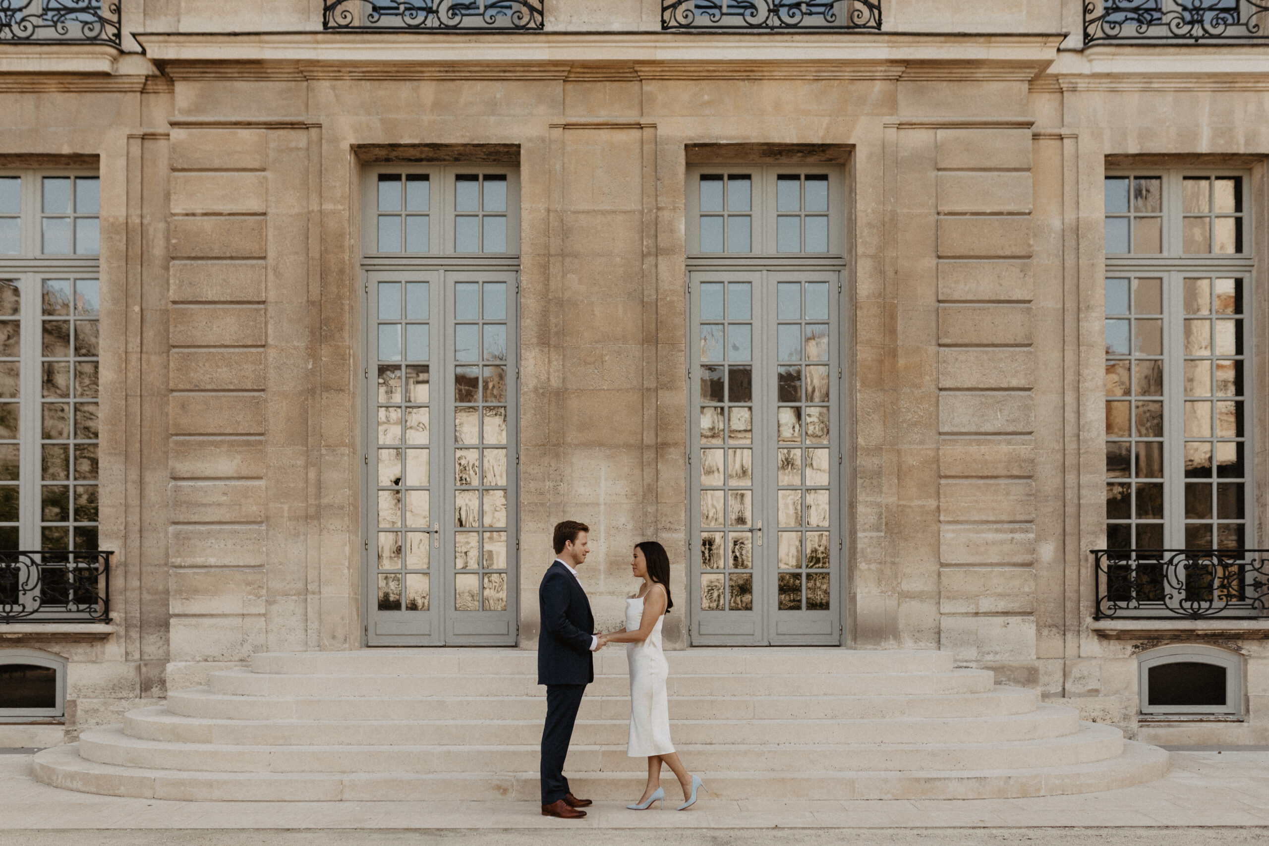 Paris elopement photographer picasso museum