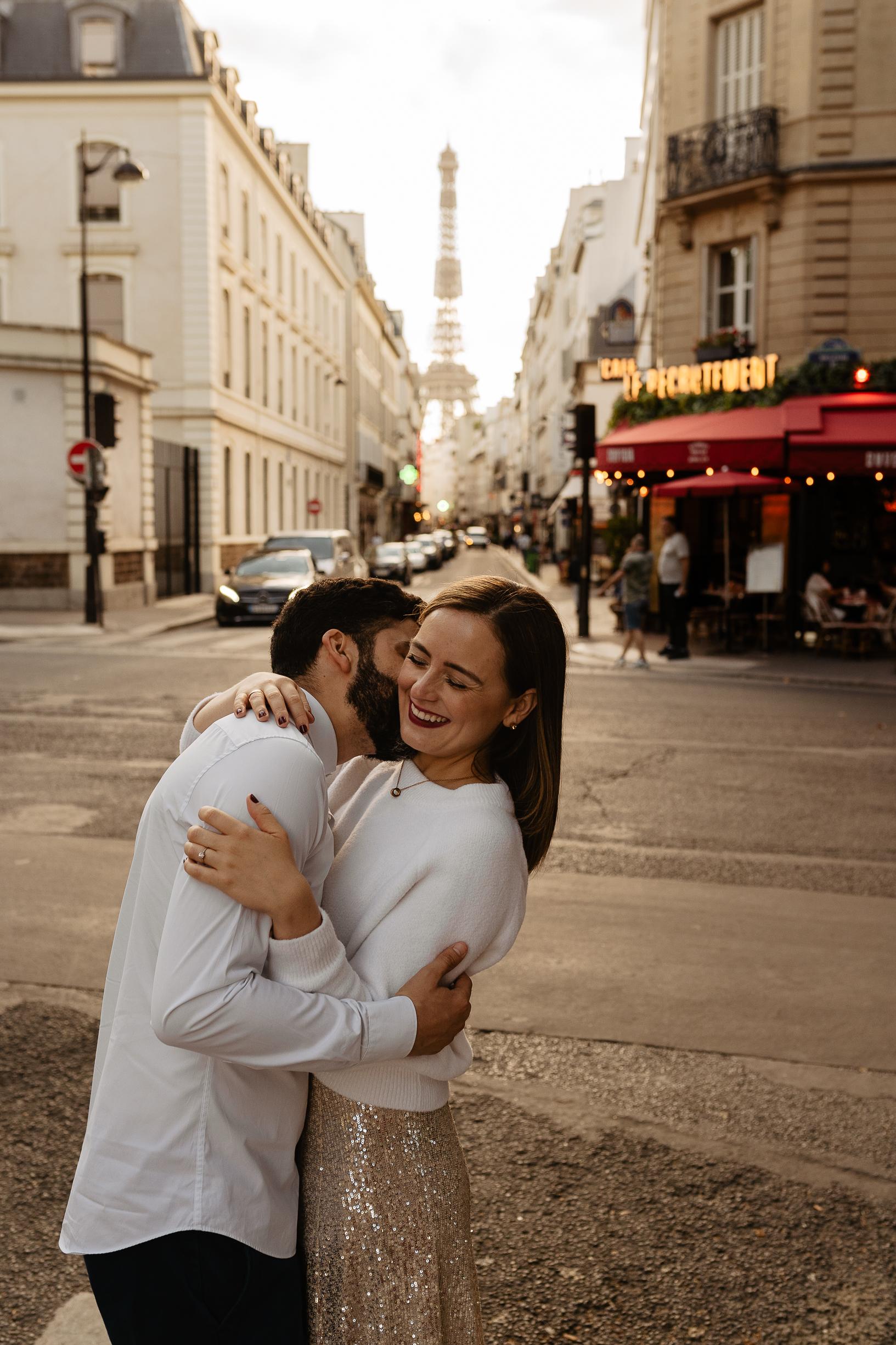 photographe mariage paris couple fiancailles