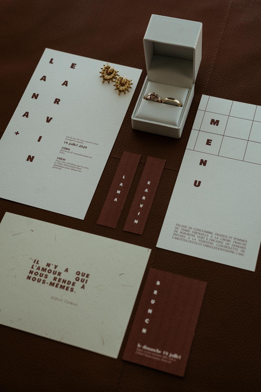 elopement stationery paris