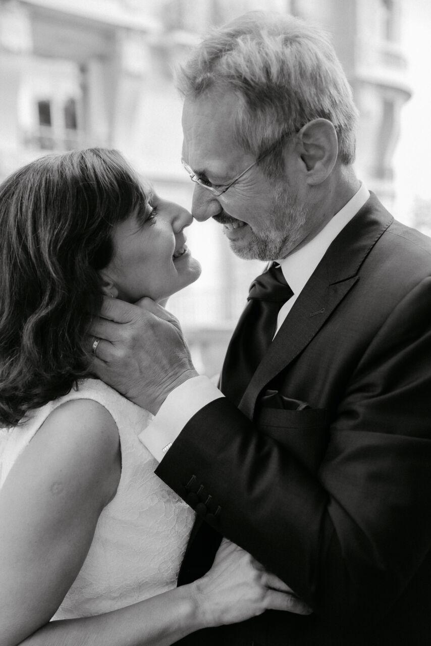 Portrait mariage paris photo