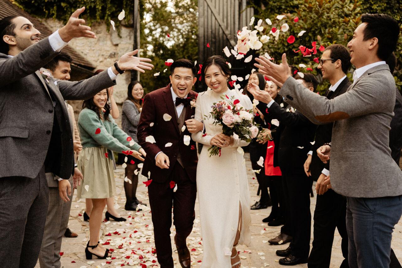 confettis wedding moment