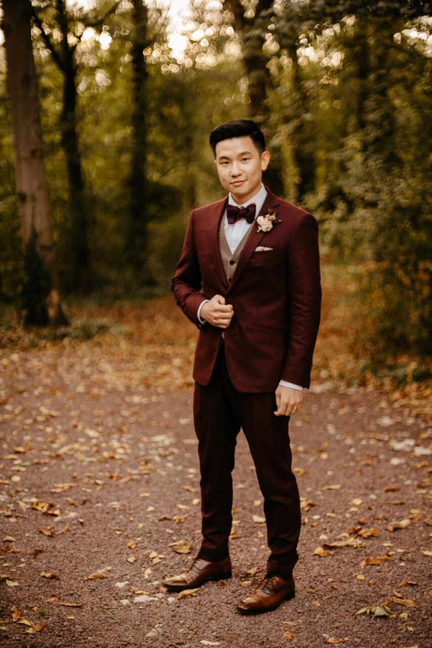 tenue de civil mariage masculin