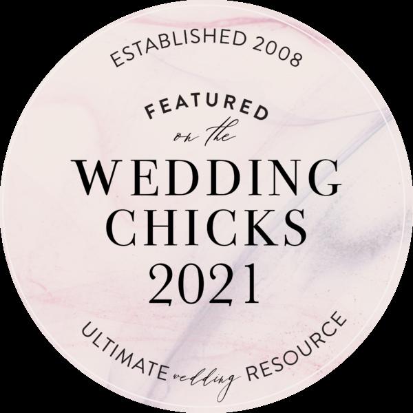 Featured on Wedding Chicks 2021